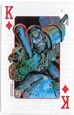 Playing Cards SFX: King of Diamonds