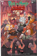 Rick and Morty: Dungeons and Dragons 1o