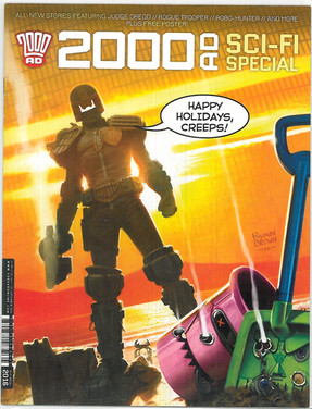 2000ad Sci-Fi Special 2016