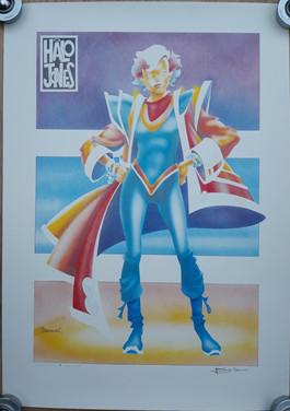 Tom Frame: Ian Gibson Halo Jones Print