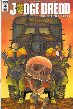 Judge Dredd Blessed Earth 4 Cover A