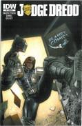 Judge Dredd 1 Cover RE Planet Comics