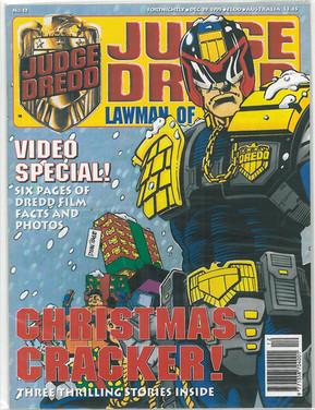 Judge Dredd Lawman of the Future 12