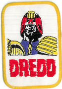 Judge Dredd Patch
