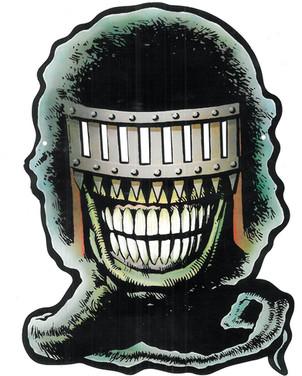 Judge Death Promotional Mask
