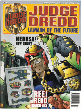Judge Dredd Lawman of the Future 19