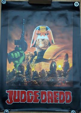 Judge Dredd Giant Poster 1