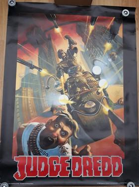 Judge Dredd Giant Poster 3