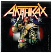 Anthrax Judge Dredd Sticker