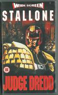 Judge Dredd 1995 VHS Widescreen
