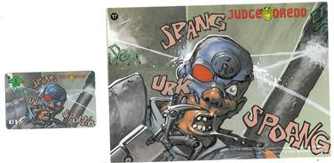 P&J Promotions Judge Dredd Series 1 number 17