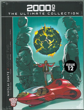 2000ad The Ultimate Collection: Nikolai Dante Volume Two