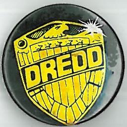 Judge Dredd Shield Badge Eighties