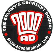 2000ad Promo Sticker