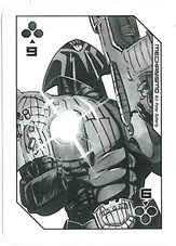 Playing Cards Megazine: Nine of Clubs