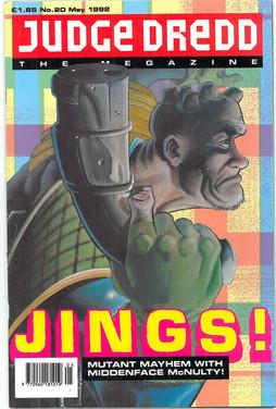 Judge Dredd Megazine Vol 1 Number 20