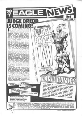 Judge Dredd Cardboard Promo Standee