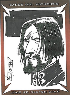 Strictly Ink Sketch Card Dante Colin MacNeil