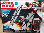 Tie Fighter with First Order Tie Pilot