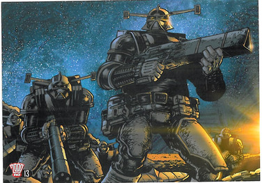 2000ad Postcard Series 2 Number 13