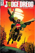 Judge Dredd Blessed Earth 2 Subscription Cover