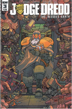 Judge Dredd Blessed Earth 3 Cover A