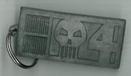 2000ad Rogue Trooper Bio-chip Keyring