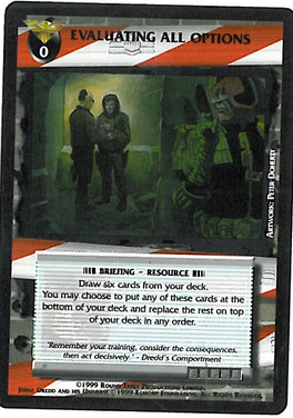 Dredd CCG: Incidents - Evaluating All Options