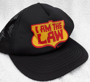 "Judge Dredd ""I am the law"" Baseball Cap"