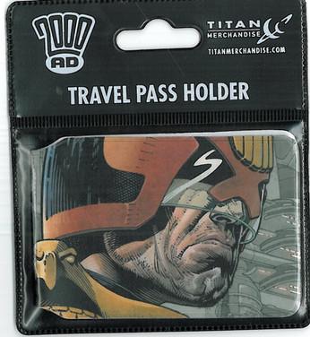 Travel Pass - Judge Dredd Face