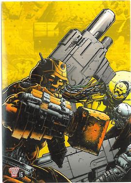 2000ad Postcard Series 2 Number 16