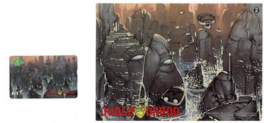P&J Promotions Judge Dredd Series 1 number 2