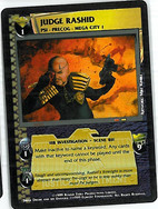 Dredd CCG: Judges - Judge Rashid