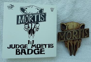 Planet Replicas: Judge Mortis Badge
