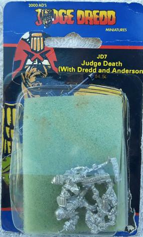Citadel Blister Judge Dredd: JD7 Judge Death with Dredd and Anderson