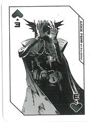 Playing Cards Megazine: Three of Spade