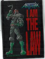 Anthrax Judge Dredd I am The Law