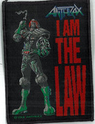 Anthrax Judge Dredd I am The Law