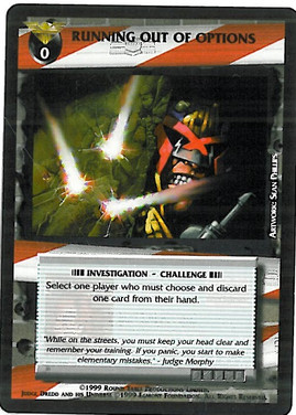 Dredd CCG: Incidents - Running out of Options
