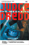 Judge Dredd Megazine Vol 1 Number 5