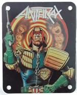 Anthrax Judge Dredd Metal Patch