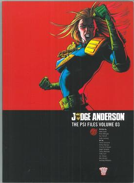 Judge Anderson: The PSI Files Volume 3