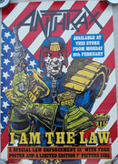 Anthrax Judge Dredd Poster Promo