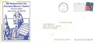 SQ Productions envelope