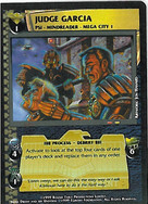 Dredd CCG: Judges - Judge Garcia
