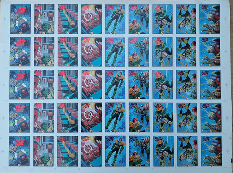 Edge: Epics Sleep of the Just Series 1 Uncut Sheet