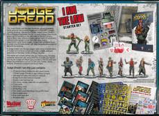 Warlord: Judge Dredd Starter Set Rear