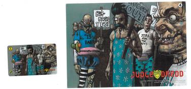 P&J Promotions Judge Dredd Series 2 Number 4