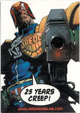 2000ad Postcard Series 1 Number 1