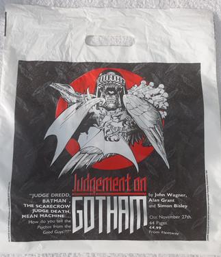 Forbidden Planet 90s Plastic Bag